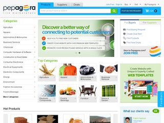 Online B2B Portal Pepagora