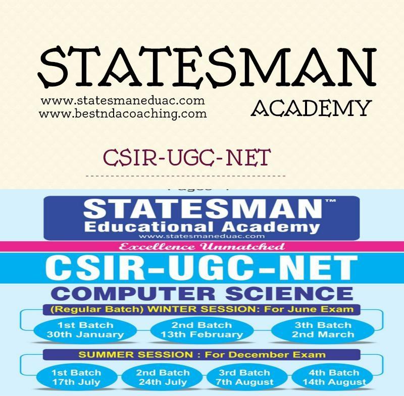 CSIR UGC NET Coaching At Statesman Academy.jpeg