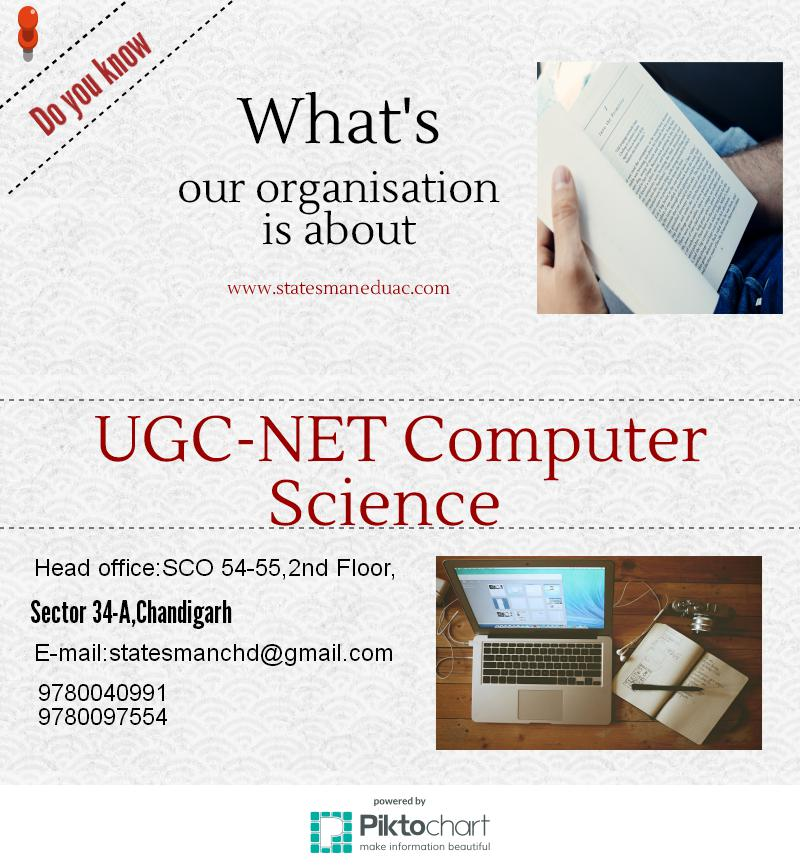 UGC NET Computer Science Coaching in Chandigarh At Staesman Academy.jpeg