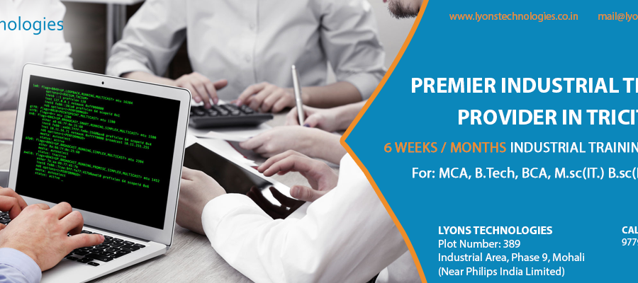 6 months Industrial Training in Lyonstechnologies Mohali.png