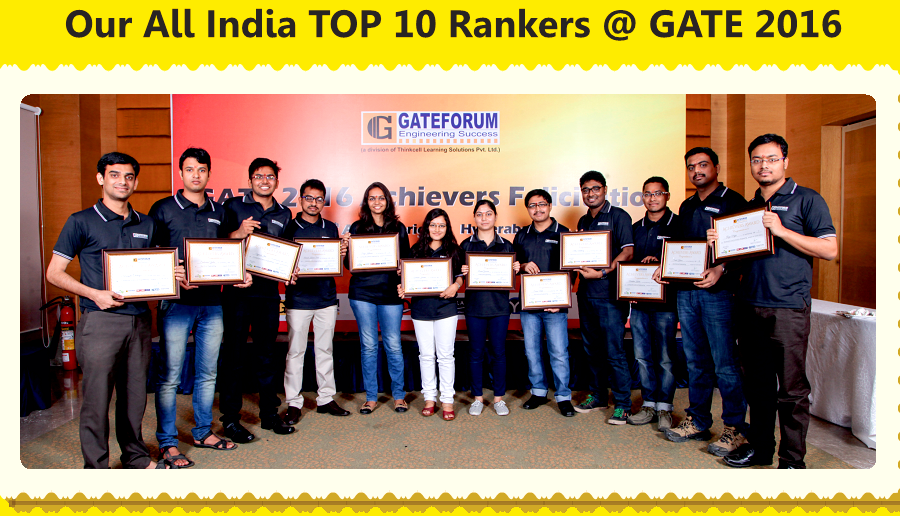 Gatforum Chandigarh - Our All India Top 10 Rankers @ GATE 2016.png