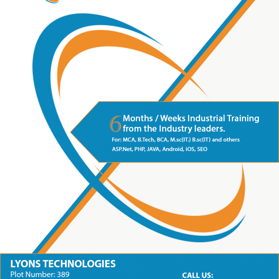 Six Months Industrial Training With Industry Leaders - Lyonstechnologies.png