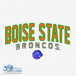 Bouse State Broncos Logo Digitizing For Embroidery - Best Quality  Embroidery Digitizing - 360 Digitizing Solutions.jpg